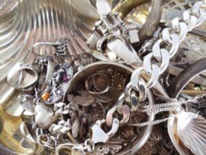 серебряные украшения без пробы